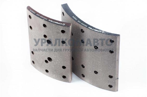 накладка тормозная задняя J6 (большая+малая) качество Createk FAW 3502407/06-А0Е
